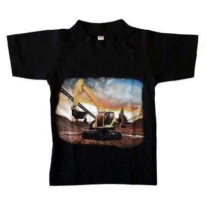T-shirt Grävmaskin Fram
