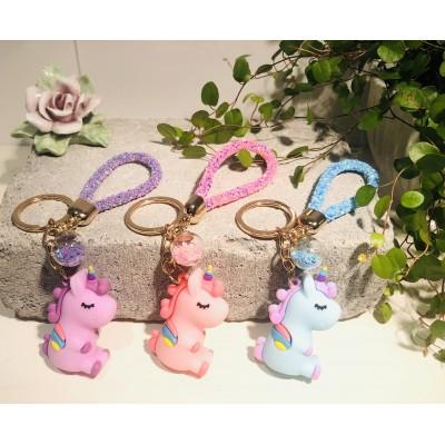 Nyckelring Dreamy unicorn Färger