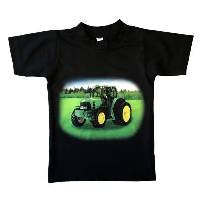 T-shirt Grön Traktor Fram