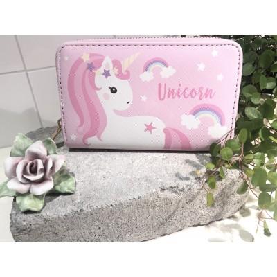 Plånbok Unicorn Rosa
