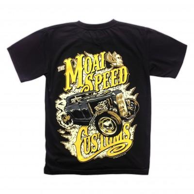 T-shirt Moai Speed - Customs Retro Bak