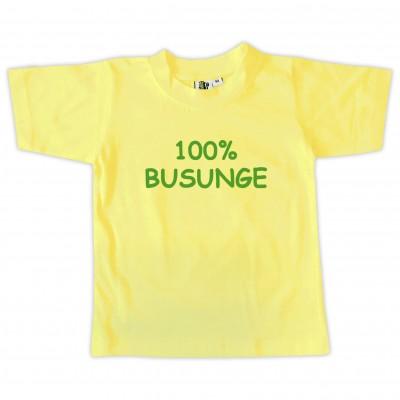 T-shirt 100% Busunge Gul