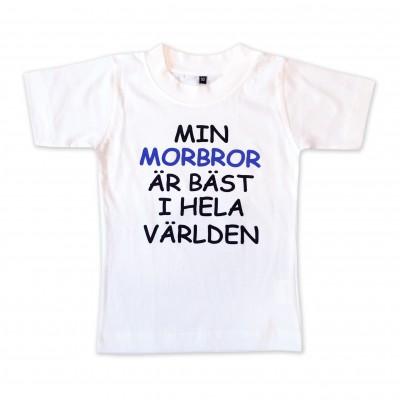 T-shirt Min morbror är bäst i hela världen!