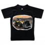 T-shirt Hjullastare i grustag
