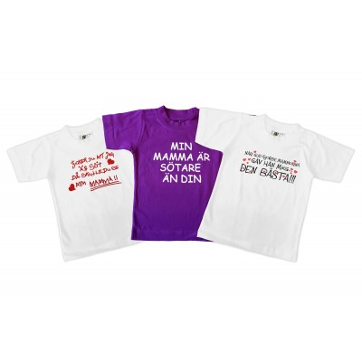 T-shirt 3-pack Mors dag