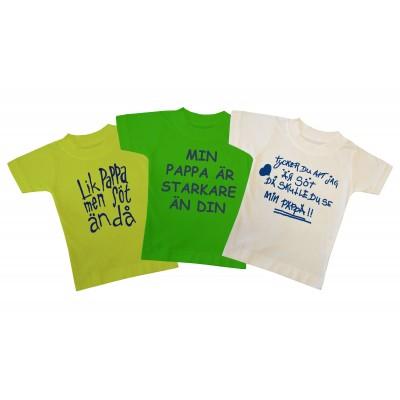 T-shirt 3-pack Fars dag