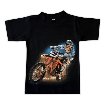 T-shirt Orange Cross Fram