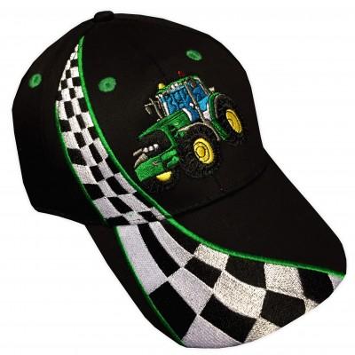 Keps Grön Traktor Sida