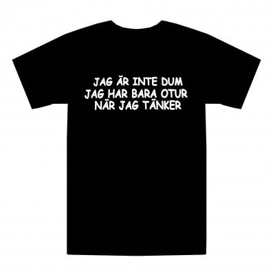 T-shirt Jag är inte dum
