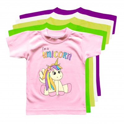 T-shirt Unicorn Baby Färger