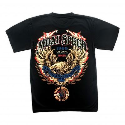 T-shirt Moai Speed - American Legendary Retro Bak