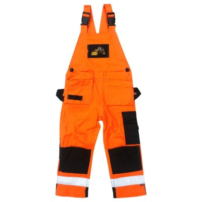 Hängselbyxa med Loxy-reflex Orange Fram