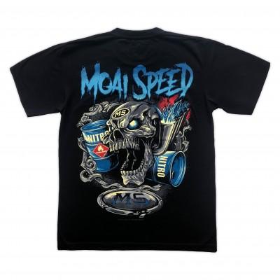 T-shirt Moai Speed - Nitro MS Retro Bak