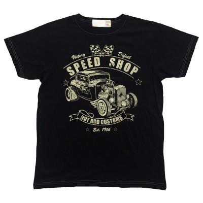 T-shirt Speed Shop Retro Fram