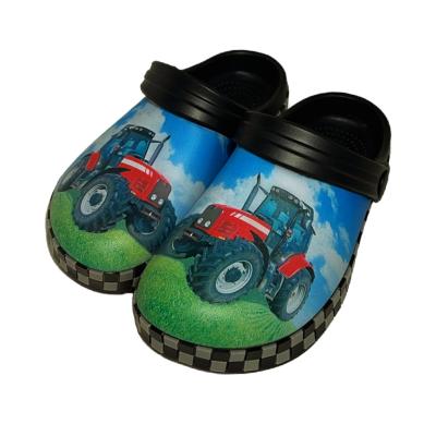 Plasttofflor Röd Traktor New