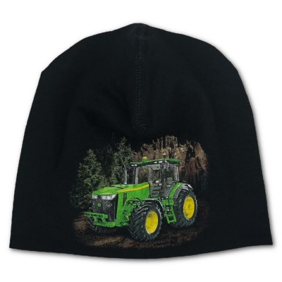 Trikåmössa Grön Traktor