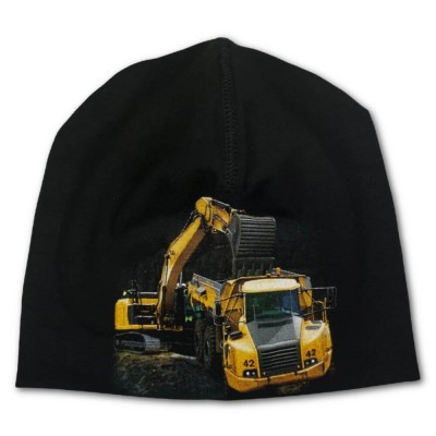 Trikåmössa Grävmaskin/Dumper